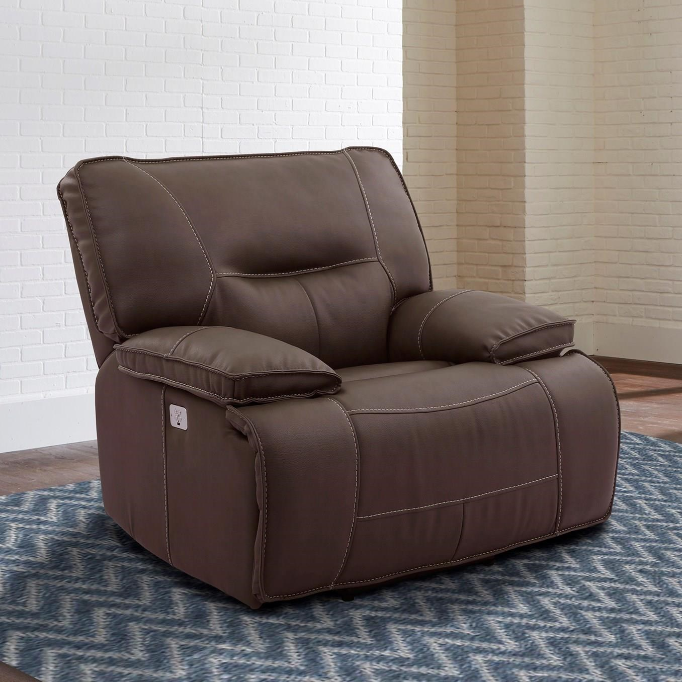 Spartacus Power Recliner with USB and Power Headrest by Parker Living at Wayside Furniture