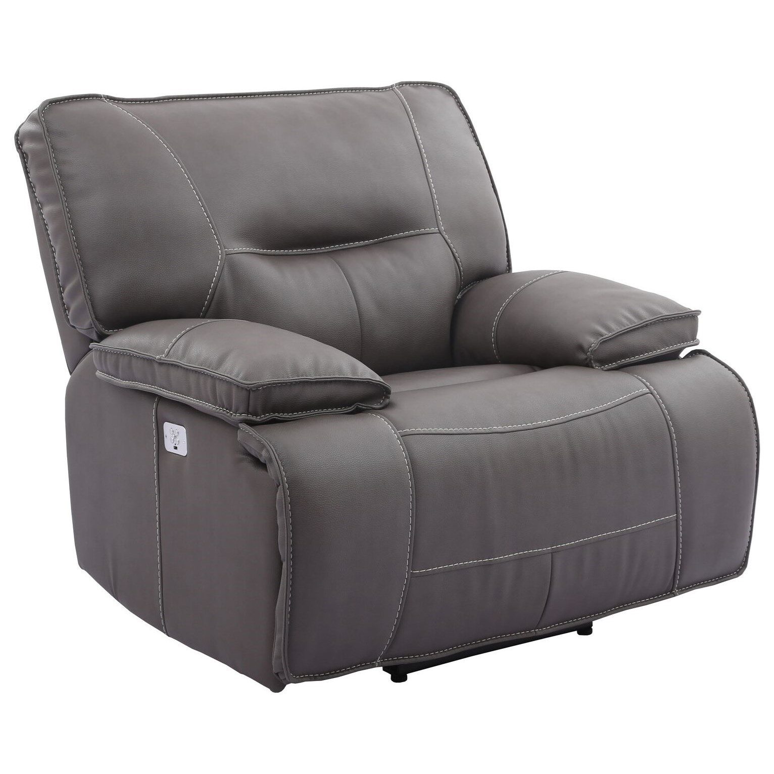 Spartacus Power Recliner with USB and Power Headrest by Parker Living at Steger's Furniture