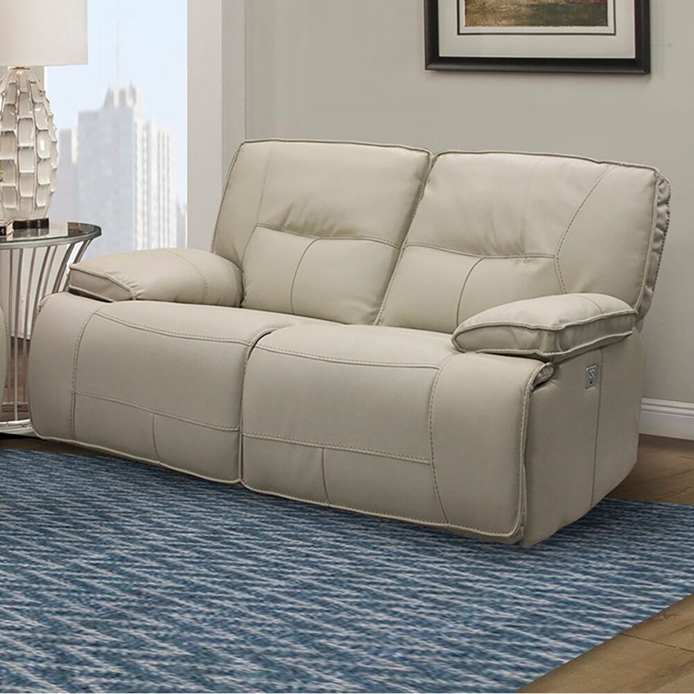 Spartacus Power Dual Reclining Loveseat by Parker Living at Smart Buy Furniture
