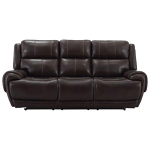 Power Dual Reclining Sofa with Power Headrest and USB Charging