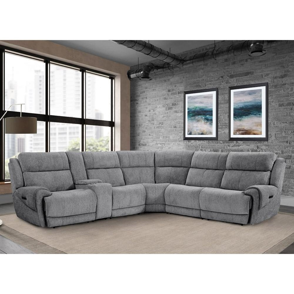 Spencer Power Reclining Sectional by Parker Living at Zak's Home