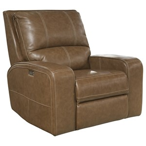 Casual Power Recliner with Power Headrest and UBS Port