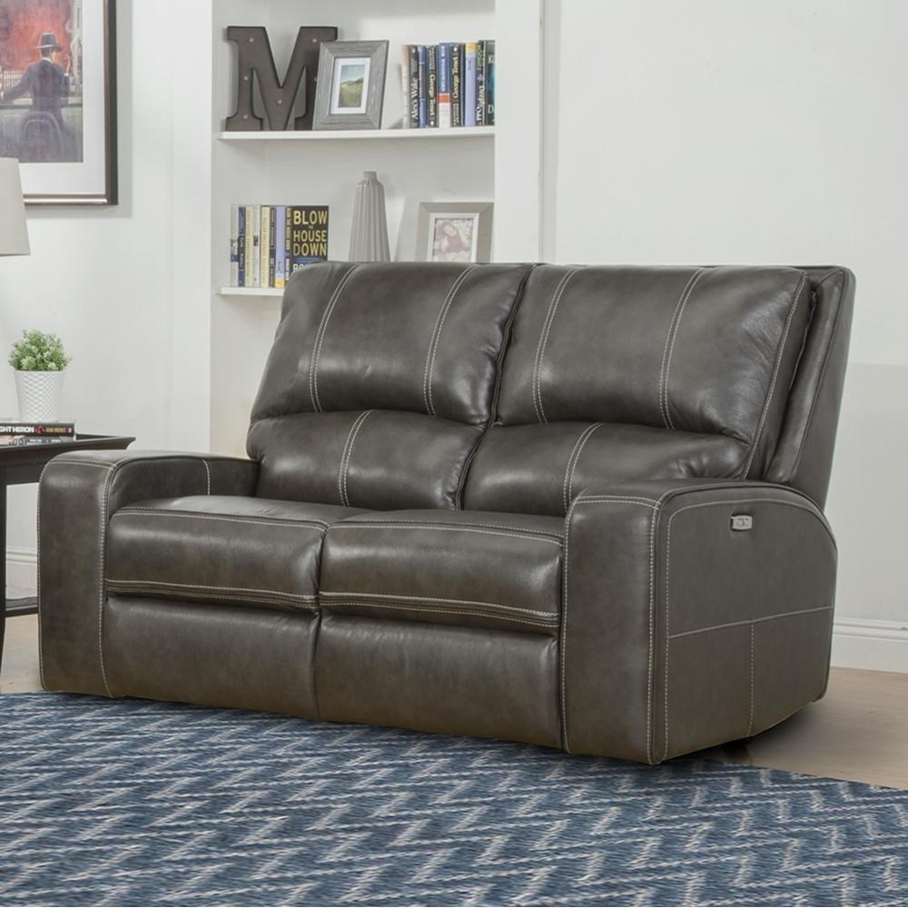 Swift Power Reclining Loveseat by Parker Living at Suburban Furniture