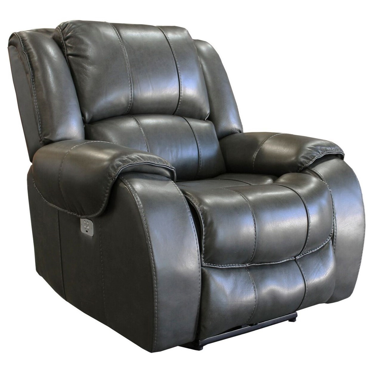 Ulysses Power Recliner w/ USB & Power Headrest by Parker Living at Zak's Home