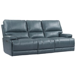 Power Reclining Cordless Sofa with Power Headrests and Built-In USB Ports
