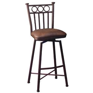 "Pastel Minson Bar Stools Collection 26"" Counter Height Stool"