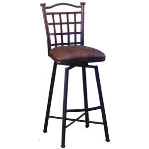"Pastel Minson Bar Stools Collection 30"" Bar Height Stool"
