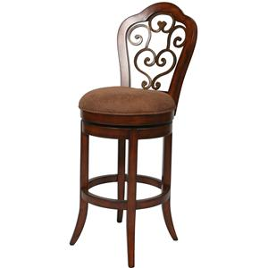 """Pastel Minson Bar Stools Collection 26"""" Carmel Counter Height Stool"""