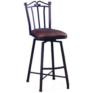 "Pastel Minson Bar Stools Collection 30"" Bar Height Stool"