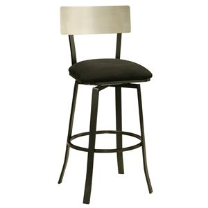 "Pastel Minson Contemporary Barstools Edinburgh 26"" Swivel Barstool"