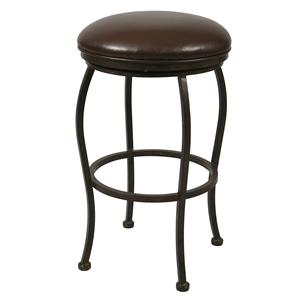 "Pastel Minson Iron Barstools Island Fall 26"" Backless Barstool"
