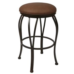 "Pastel Minson Iron Barstools Lexington 30"" Backless Barstool"