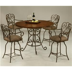 Pastel Minson Magnolia 5 Piece Table & Chair Set
