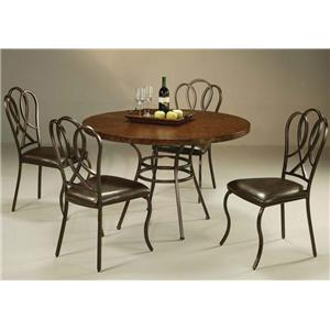 Pastel Minson Oxford 5 Piece Table & Chair Set