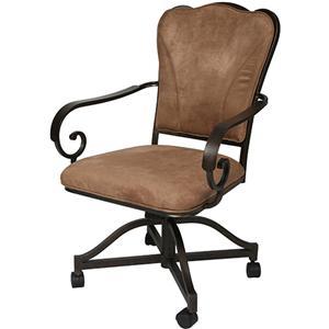 Pastel Minson Vienna Caster Chair