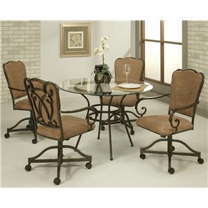 Pastel Minson Vienna 5 Piece Table & Chair Set