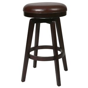 "Royal Vista 26"" Backless Barstool"