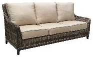 Patio Renaissance Highback Sofa by Patio Renaissance at Johnny Janosik