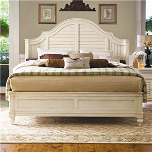 Paula Deen by Universal Paula Deen Home Queen Steel Magnolia Bed