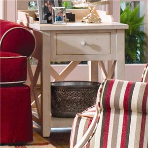 Paula Deen by Universal Paula Deen Home Drawer End Table