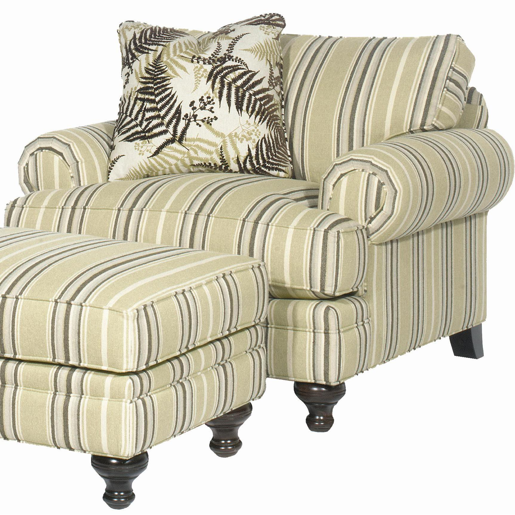 P709900 Chair by Paula Deen by Craftmaster at Sprintz Furniture