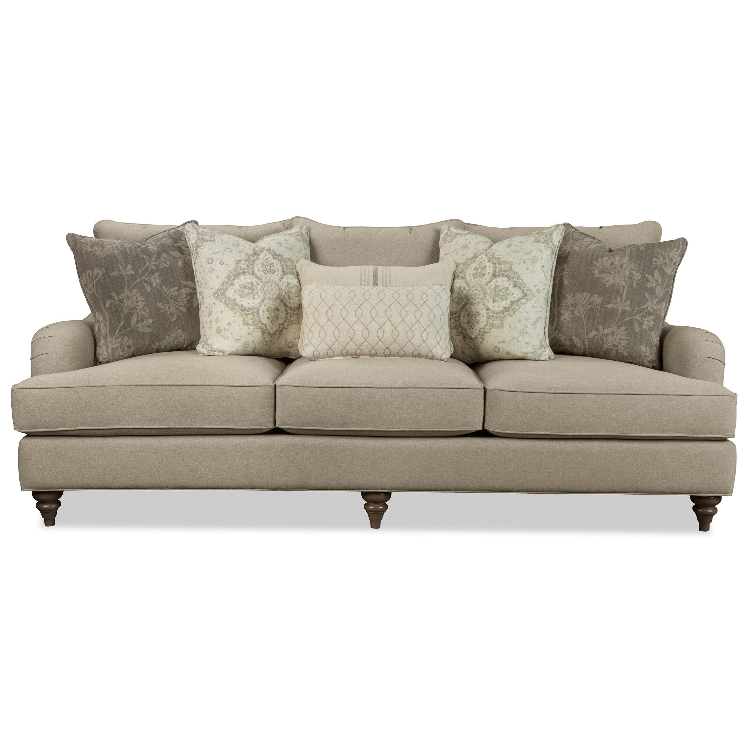 P773650BD 98 Inch Sofa by Paula Deen by Craftmaster at Zak's Home