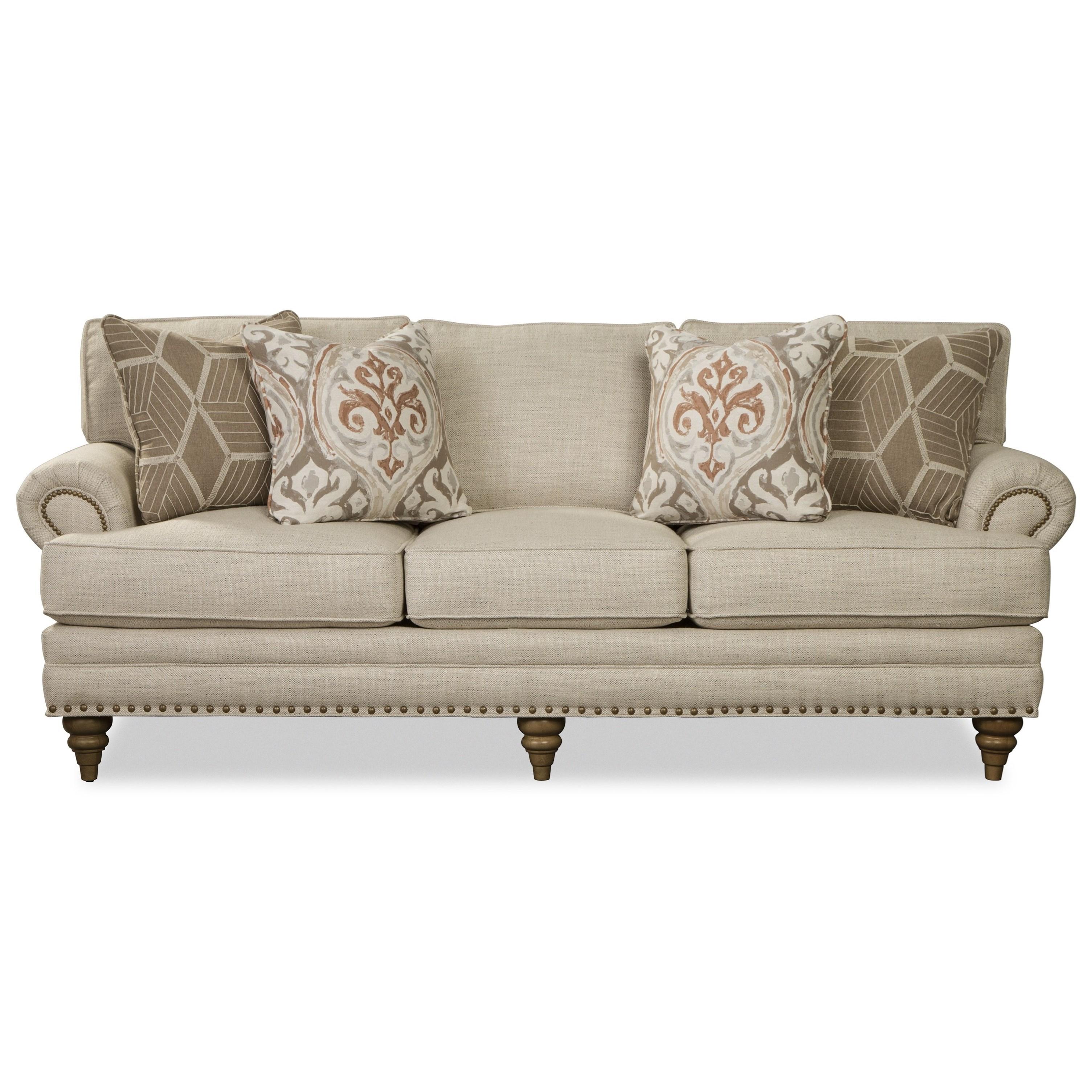 P794650 Sofa by Paula Deen by Craftmaster at Zak's Home