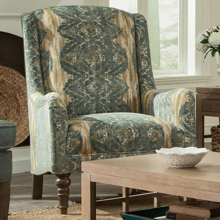 Paula Deen Upholstered Accents Chair by Paula Deen by Craftmaster at Home Collections Furniture