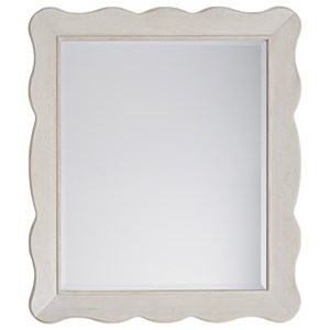 Cottage Mirror with Wooden Frame