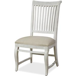 Dogwood Side Chair with Slat Back
