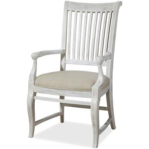 Dogwood Arm Chair with Slat Back