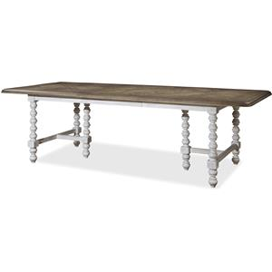 Dogwood Double Pedestal Dinner Table