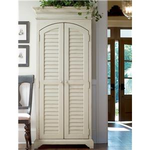 Utility Cabinet with Louvered Doors