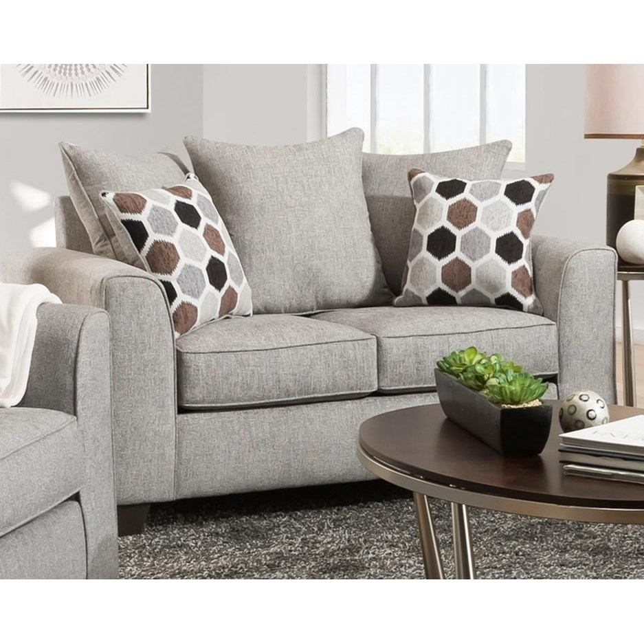 1220 Loveseat by Peak Living at Prime Brothers Furniture