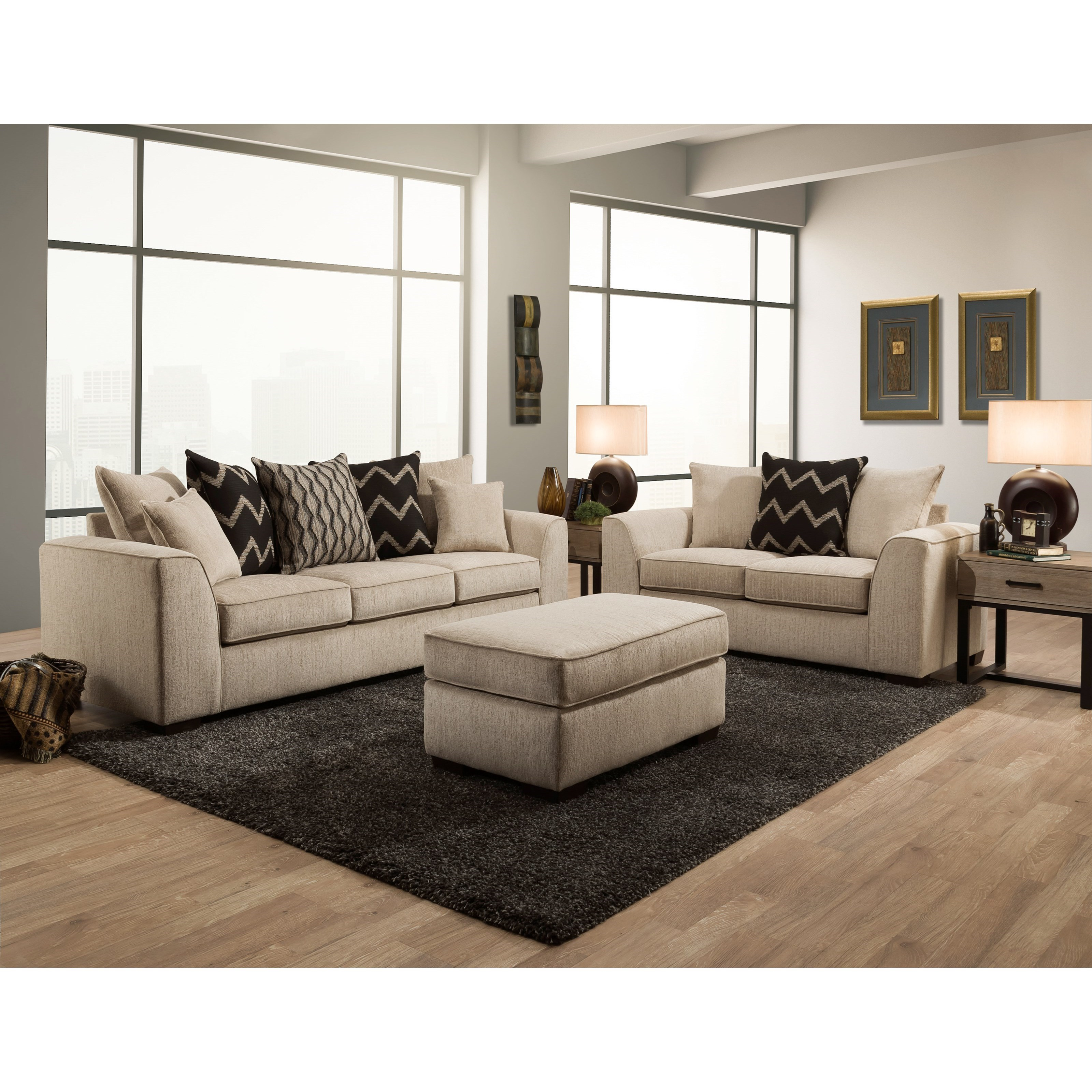 2600 Living Room Group by Peak Living at Prime Brothers Furniture