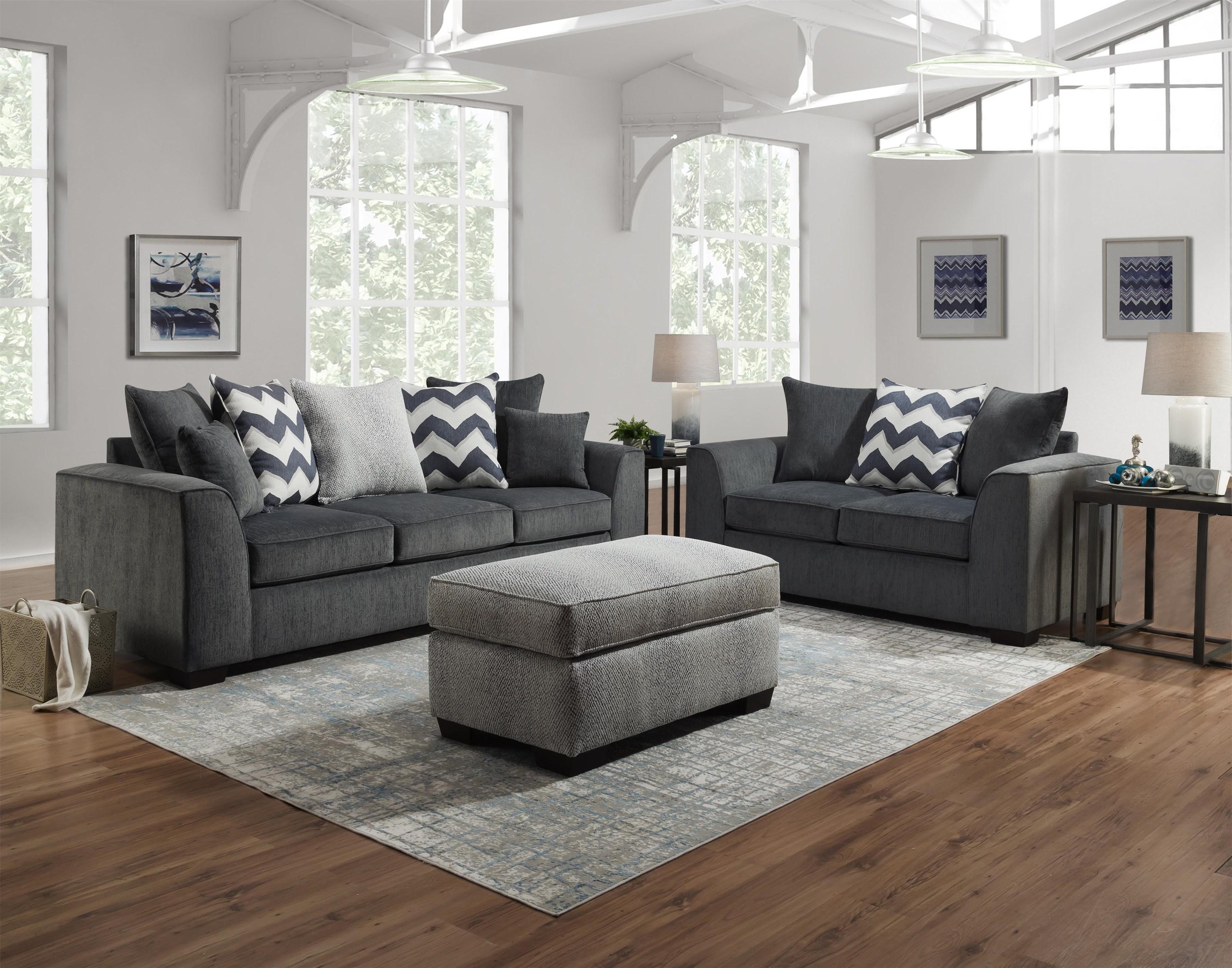 2600 Loveseat by Peak Living at Darvin Furniture
