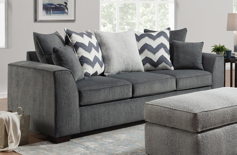 Oslo - Farley - Sterling Casual Sofa at Rotmans