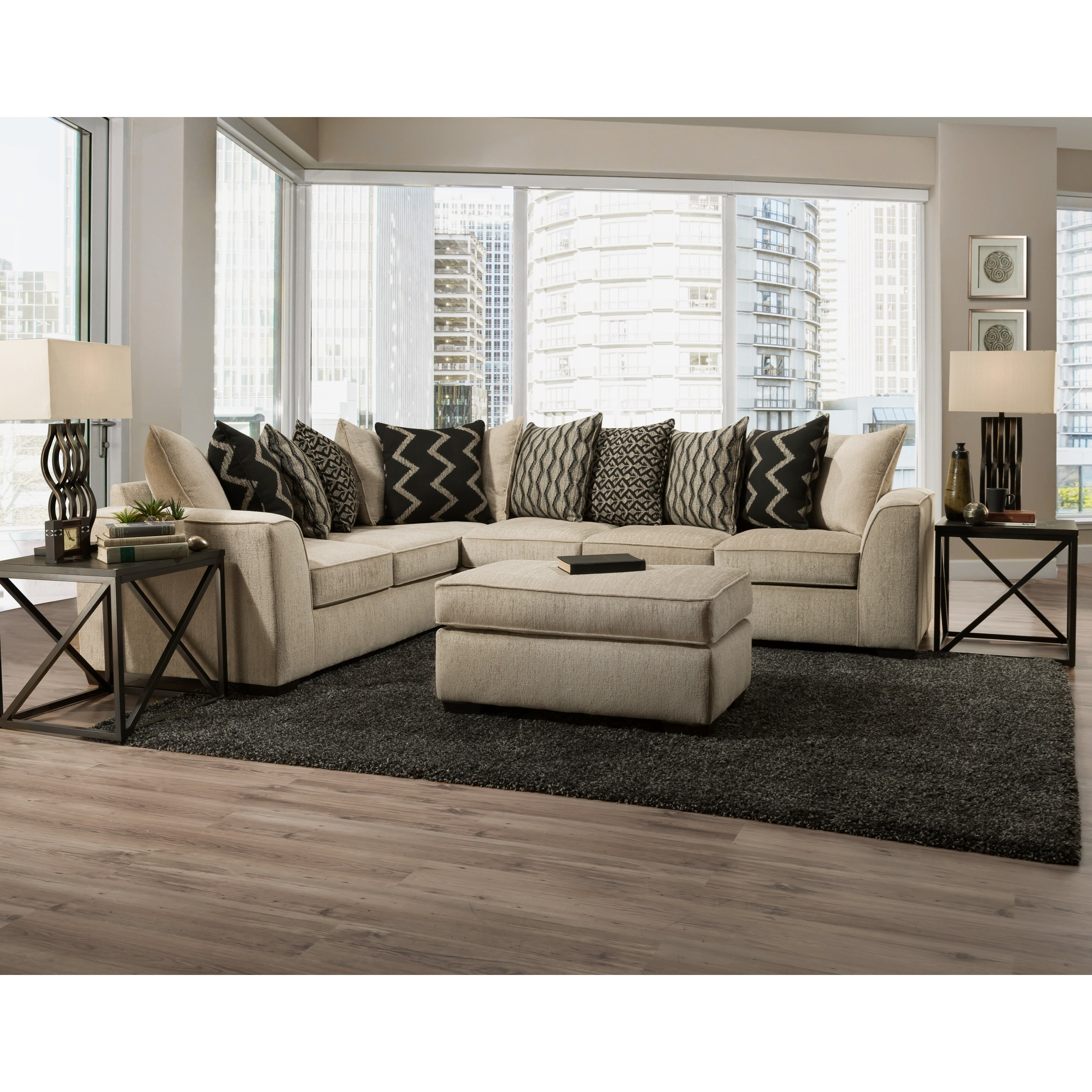 2600 2-Piece Sectional by Peak Living at Prime Brothers Furniture