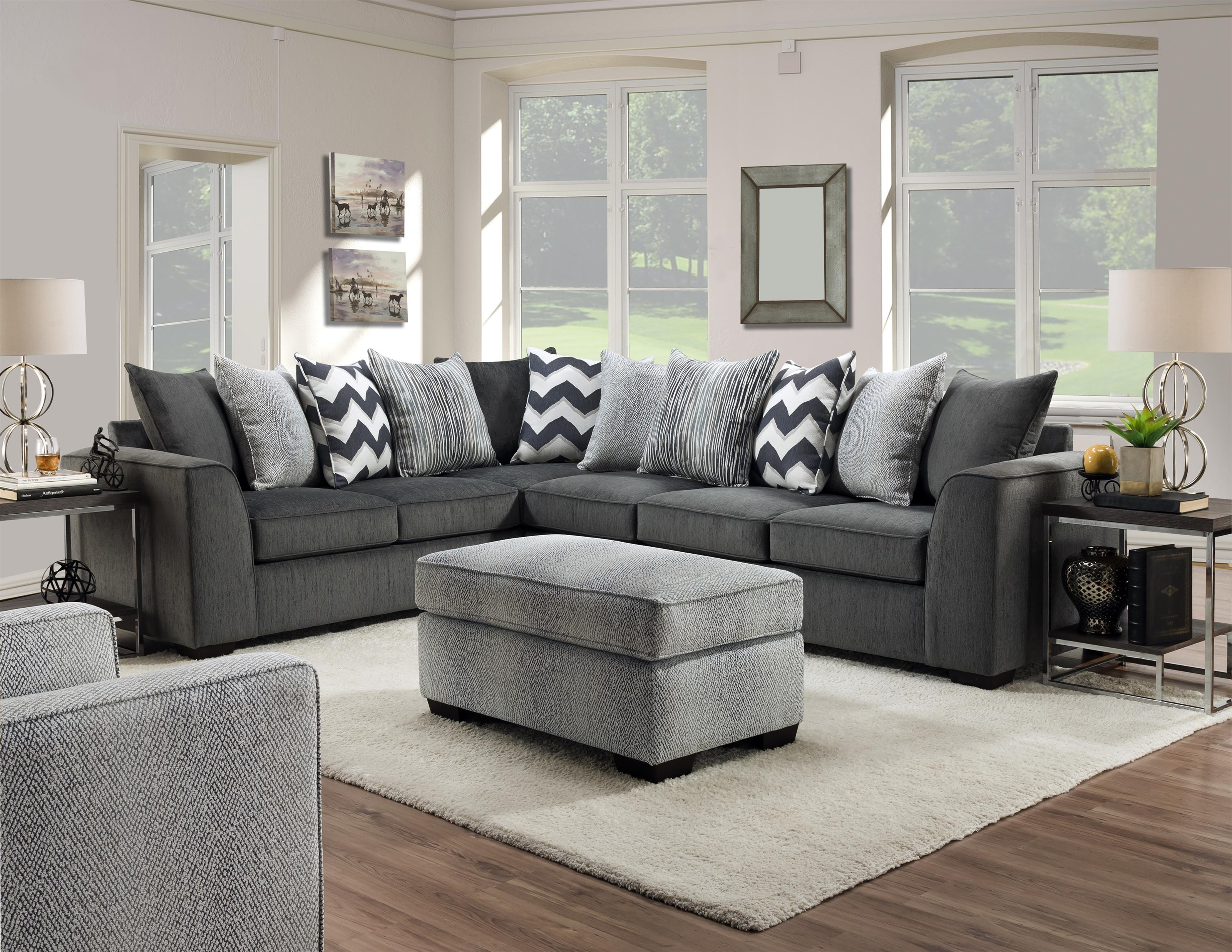 2600 2 Piece Sectional by Peak Living at Darvin Furniture