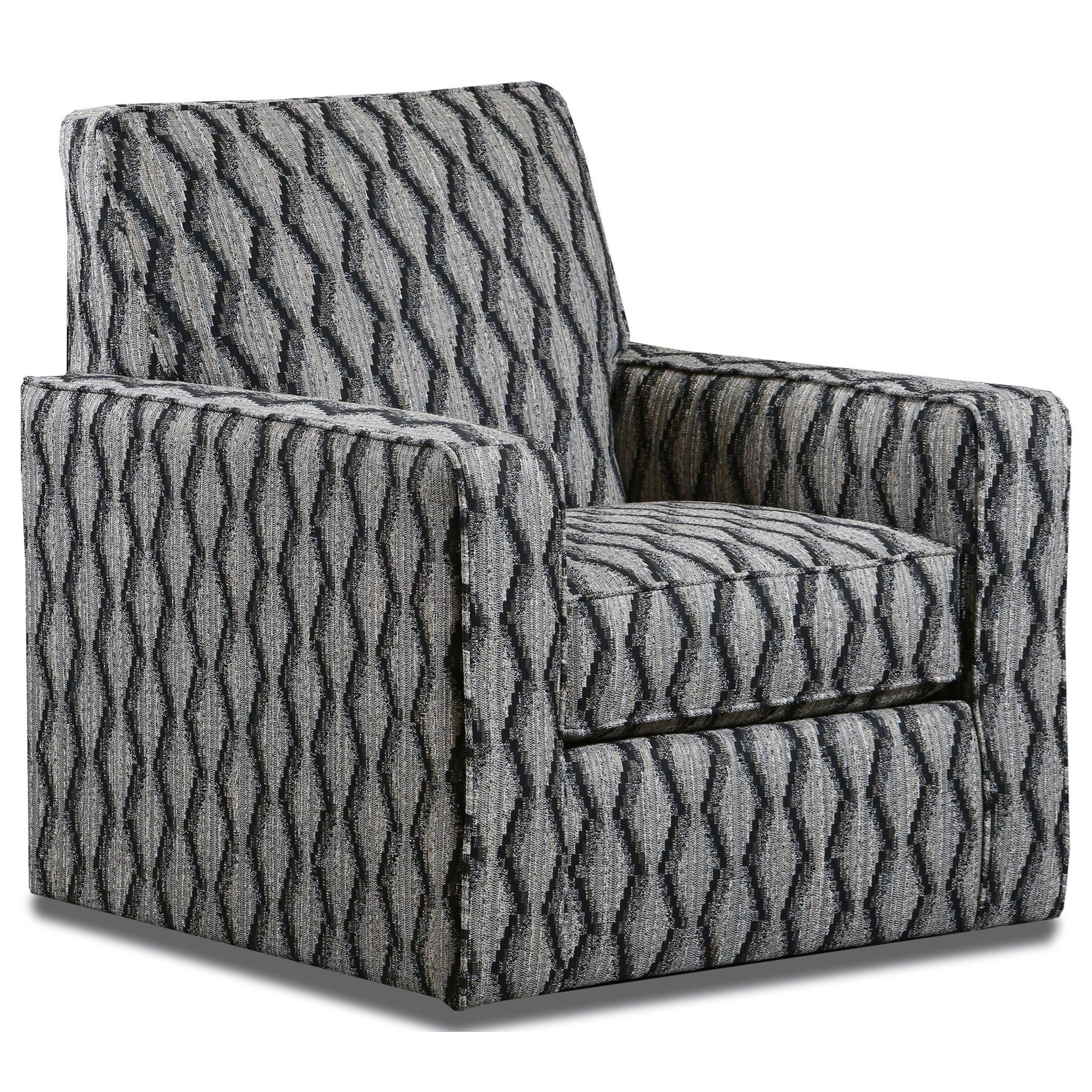 2600 Swivel Chair by Peak Living at Darvin Furniture