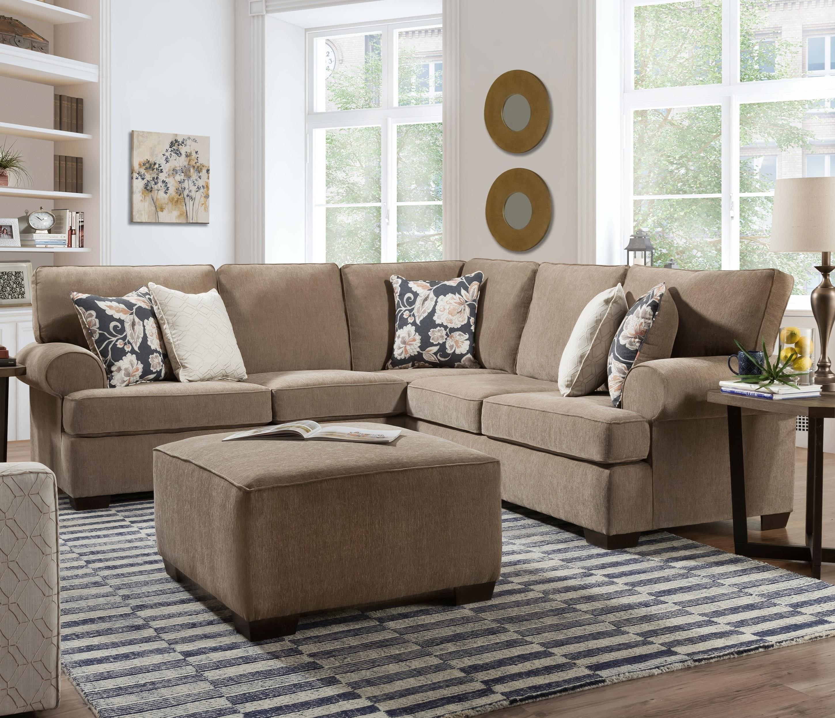 3010 Sectional by Peak Living at Prime Brothers Furniture