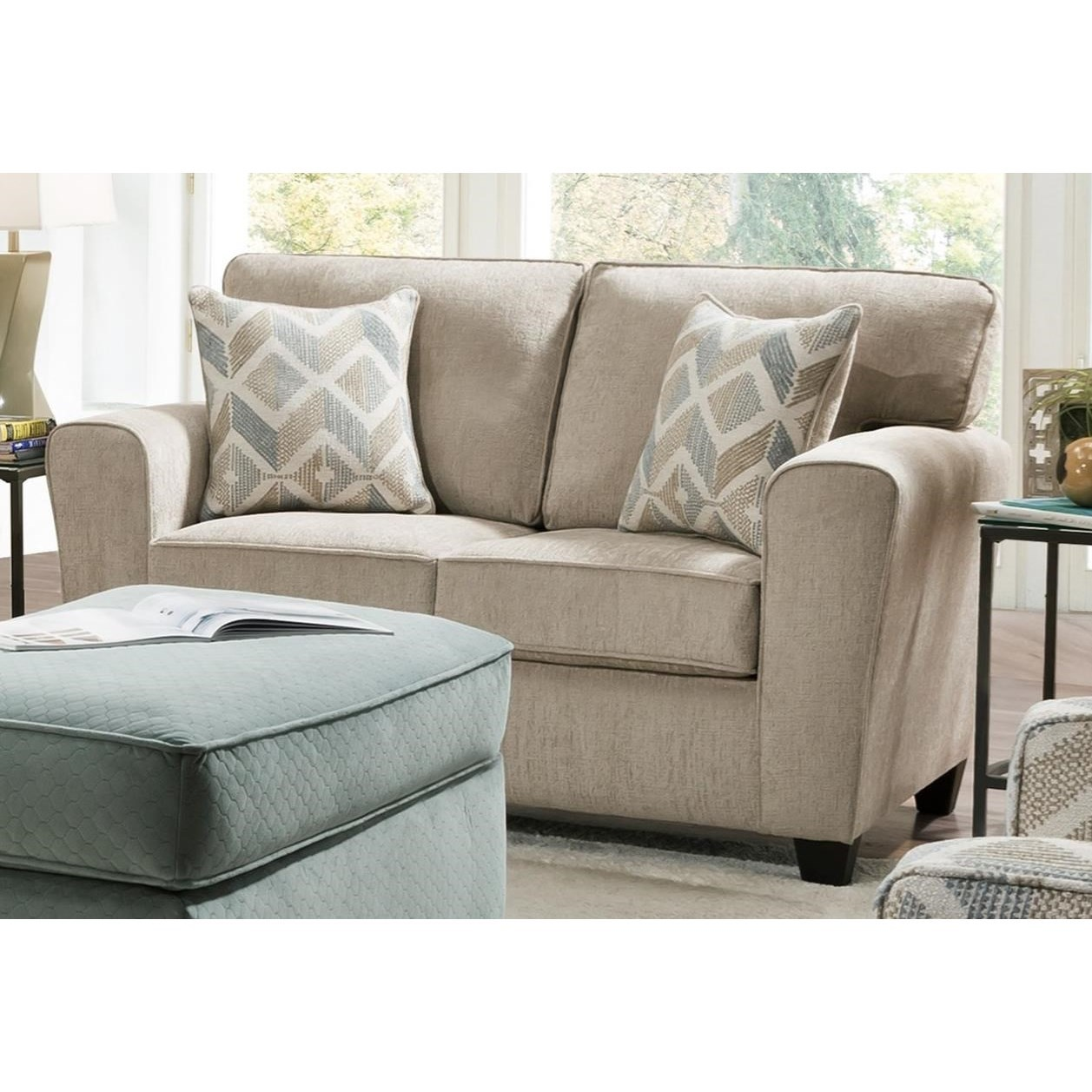 3100 Loveseat by Peak Living at Prime Brothers Furniture