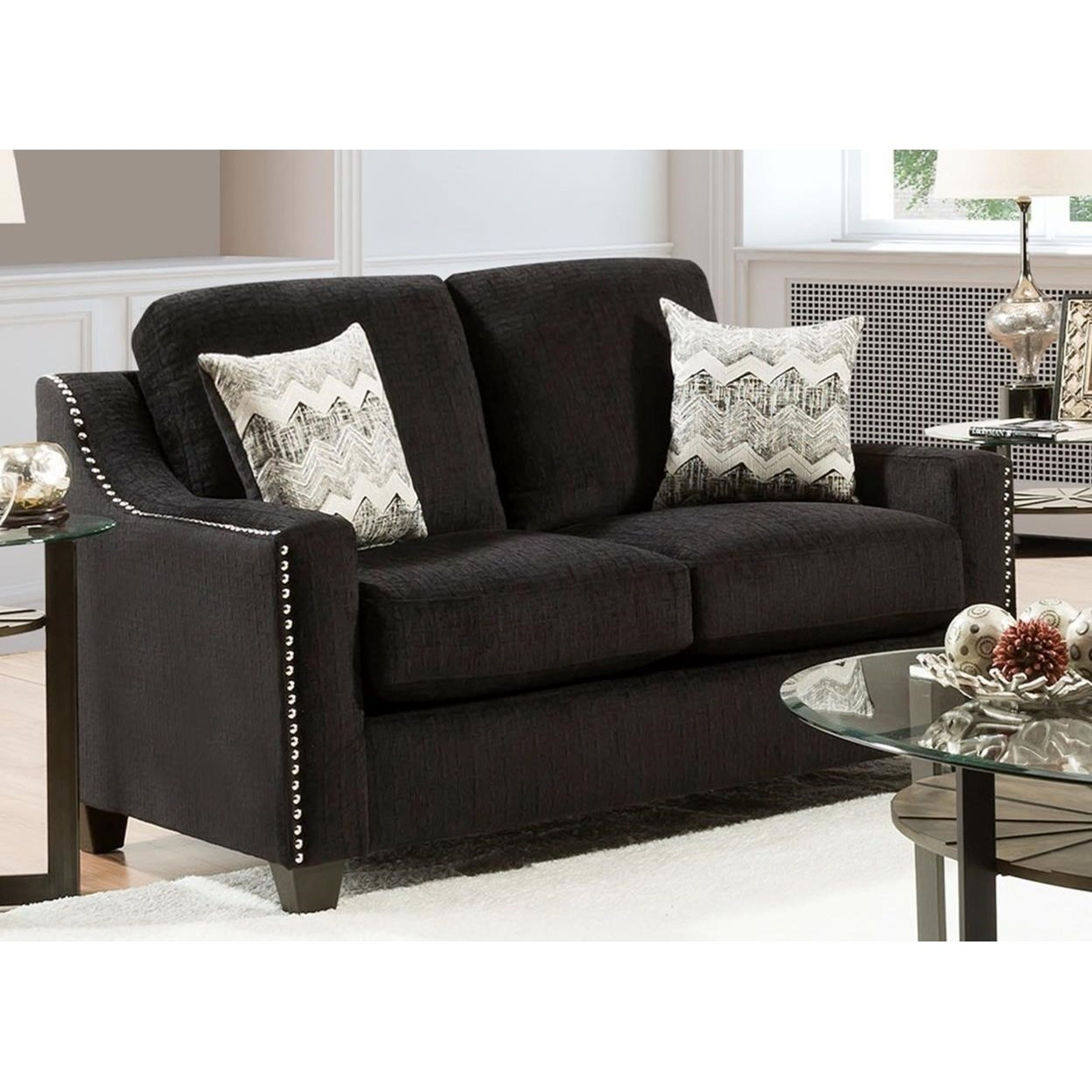 3470 Loveseat by Peak Living at Prime Brothers Furniture