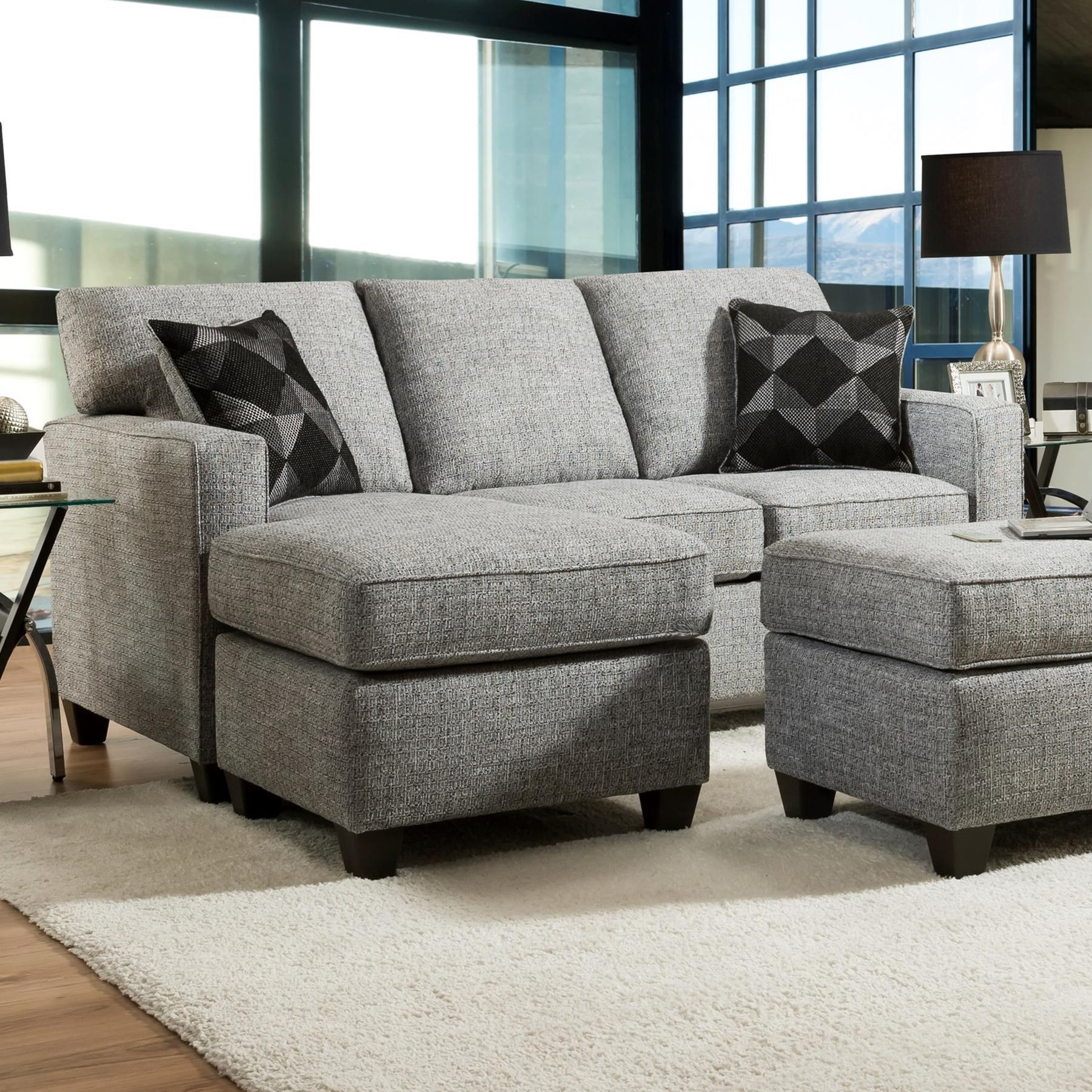 3660 Sofa Chaise by Peak Living at Prime Brothers Furniture