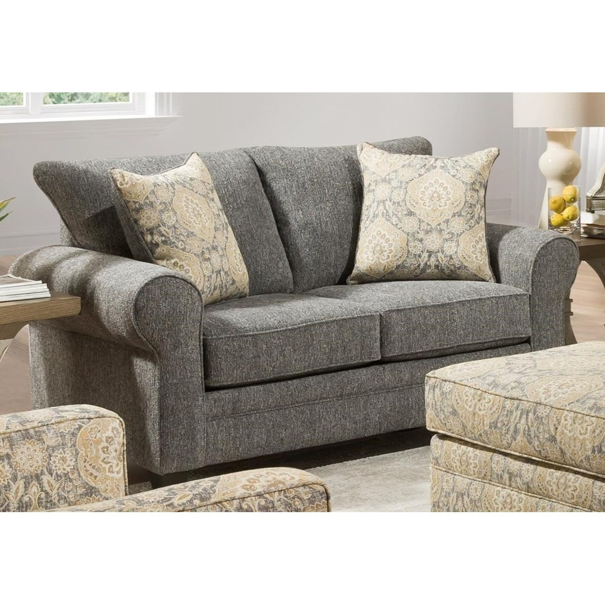 4170 Loveseat  by Peak Living at Prime Brothers Furniture