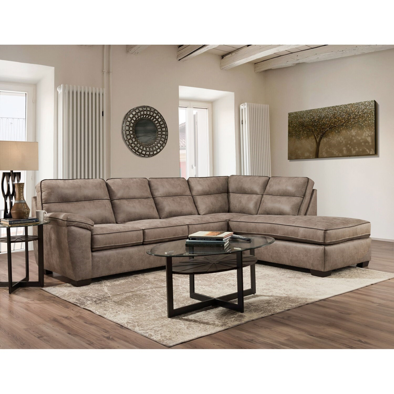 6000 2-Piece Sectional by Peak Living at Prime Brothers Furniture