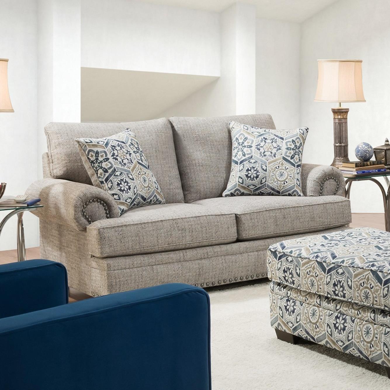 8100 Loveseat by Peak Living at Darvin Furniture
