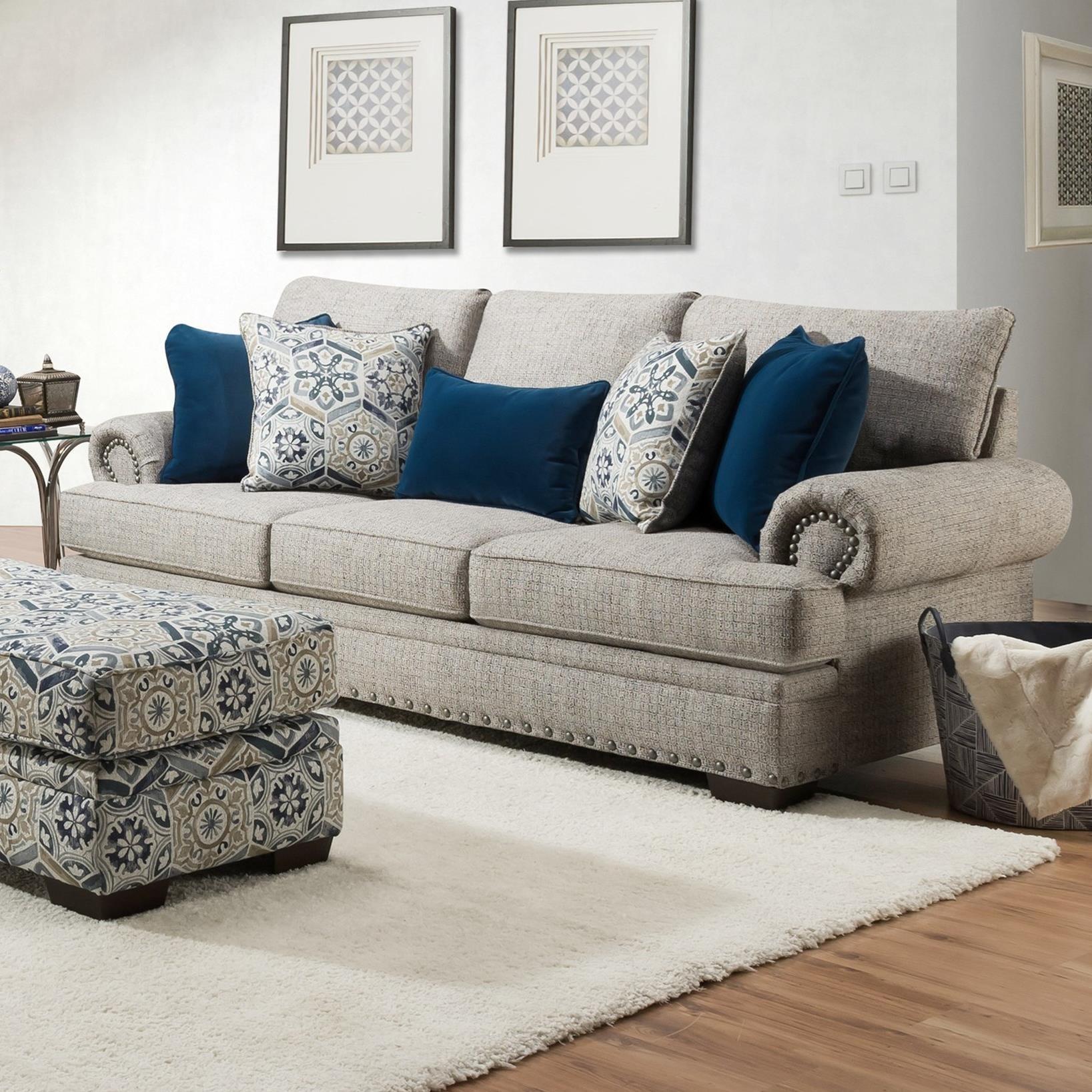 8100 Sofa  by Vendor 610 at Becker Furniture