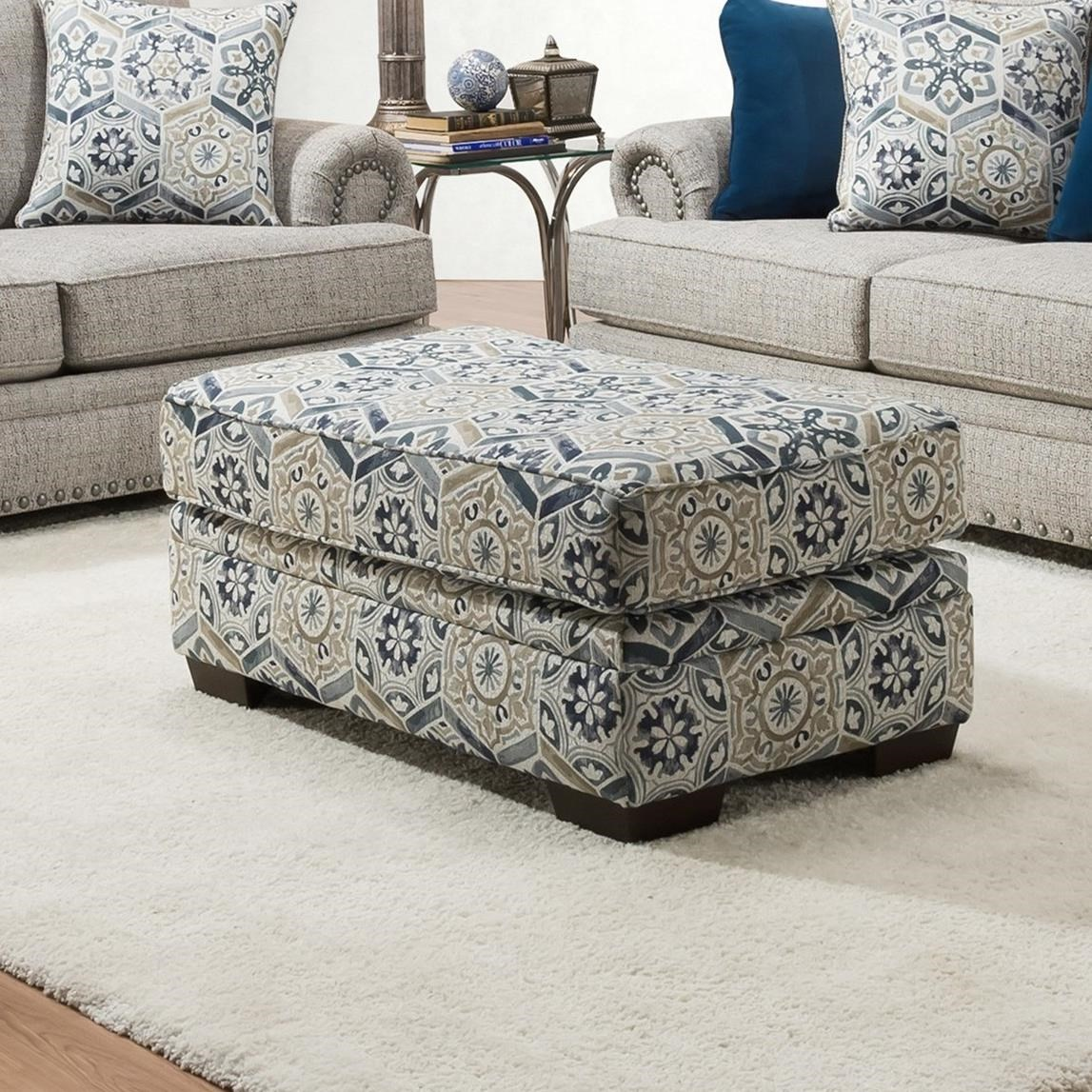 8100 Ottoman by Peak Living at Darvin Furniture