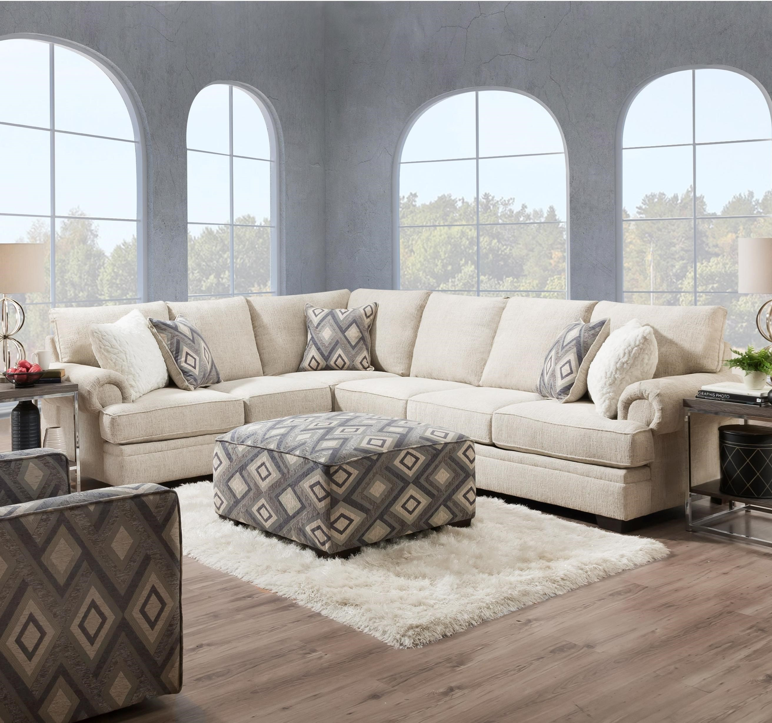 8200 Sectional by Peak Living at Prime Brothers Furniture